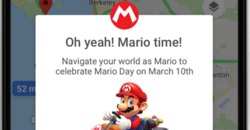 Google Maps Just Released Its Newest Easter Egg and Mario Fans Will Be Thrilled