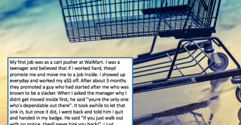 People Who Walked Out of a Job in the Middle of the Shift Share What Happened