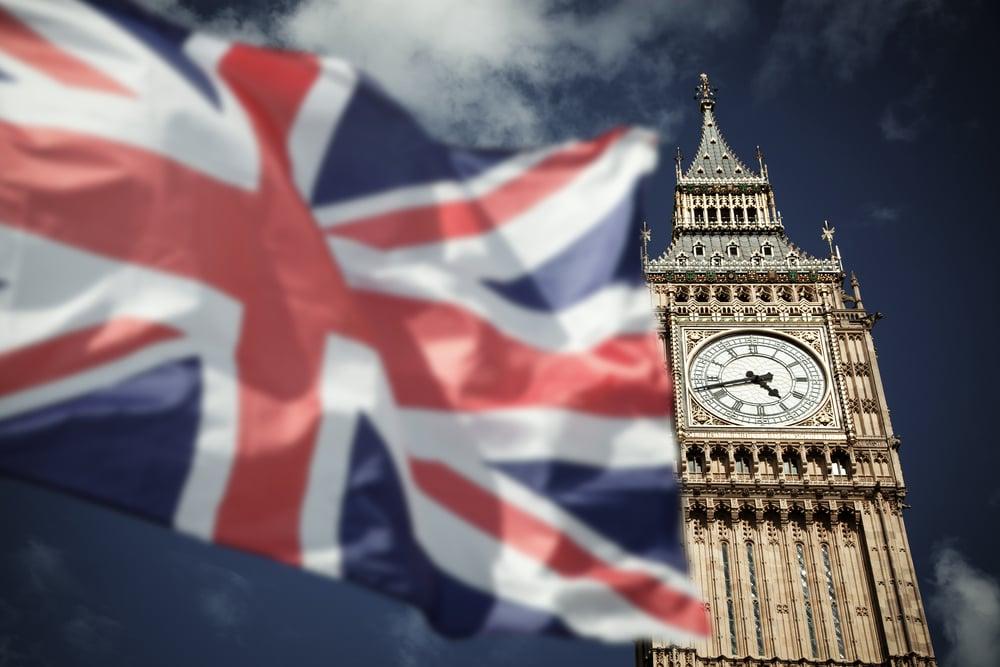 britain flag big ben