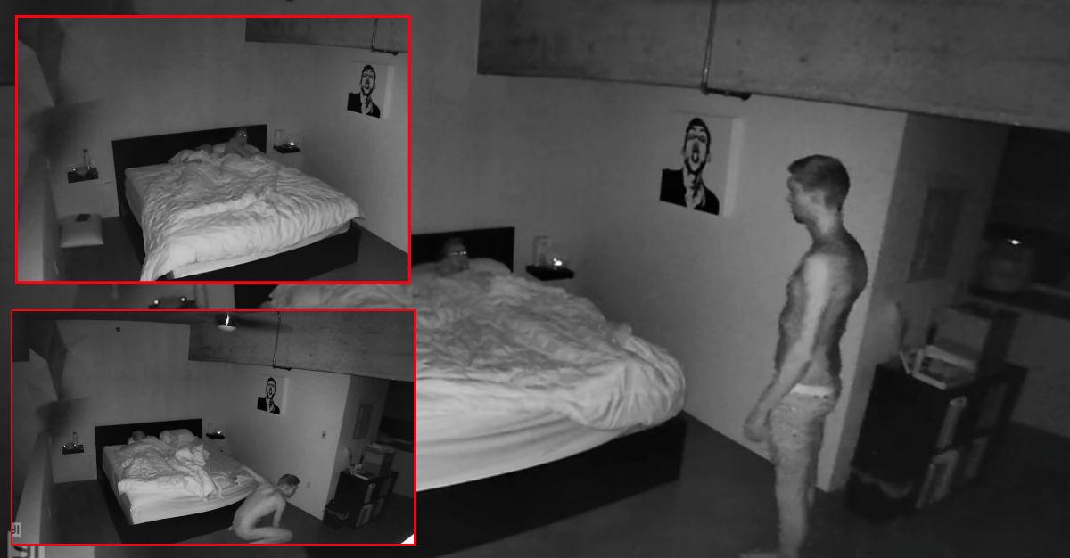 sleepwalk video paranormal activity